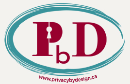 Logo of the Privacy By Design program.