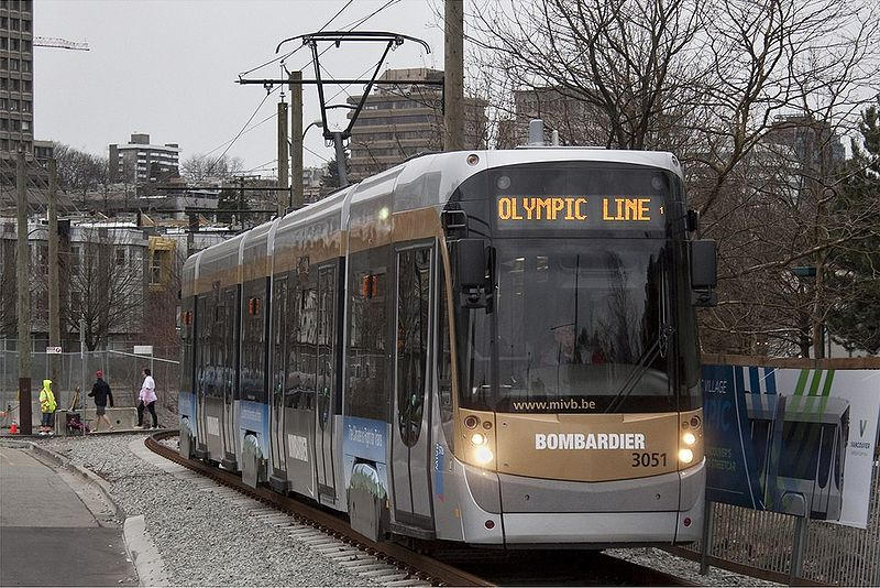 Olympic Line Streetcar in 2010